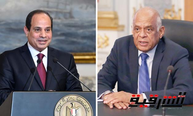 رئيس البرلمان يرسل برقيتى تهنئة لرئيس الجمهورية بذكرى الثورة وعيد الشرطة