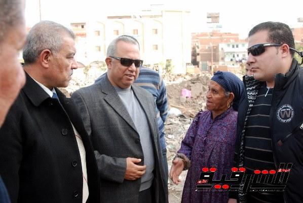 بالصور..محافظ الشرقية يتفقد الأعمال الجارية بمنطقتى المسلمية ومشتول بمدينة الزقازيق