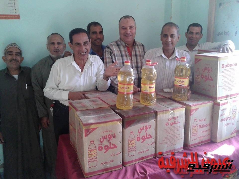 ضبط 27.5 طن أرز أبيض وكمية من زيت الطعام قبل بيعها فى السوق السوداء بالحسينية