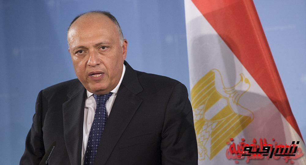 وزير الخارجية ينقل رسالة شفهية من الرئيس السيسى الى رئيس إثيوبيا