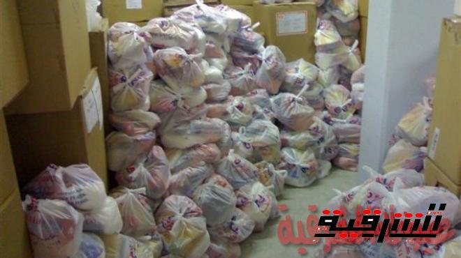 1000 شنطة غذائية لأعضاء نقابة المهندسين بالشرقية