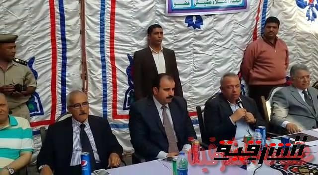 محافظ الشرقية ووكيل وزارة الصحة يفتتحان المركز الطبي لعلاج الكبد وفيروس