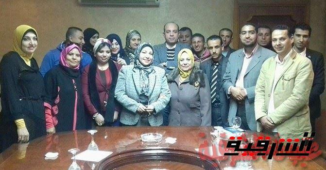 رابطة المرأة العربية وشباب أبوحماد في ضيافة جمعية من أجل مصر بالزقازيق