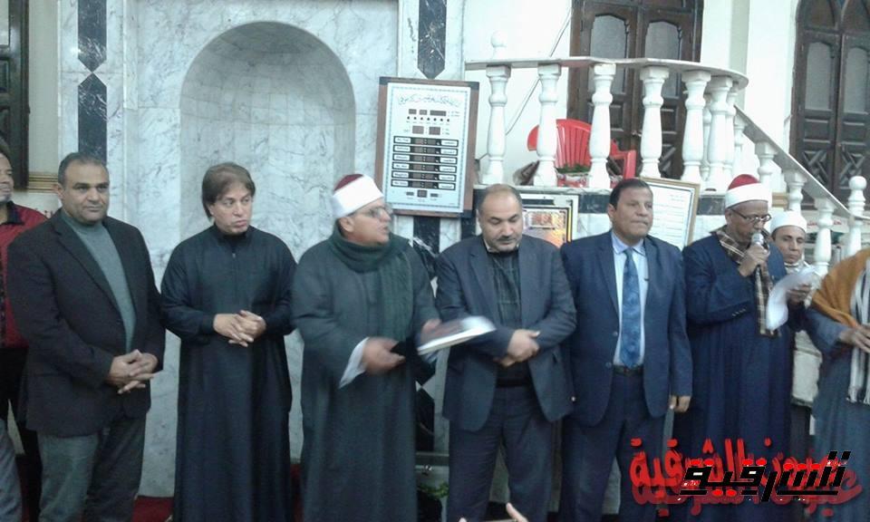أوقاف أبوحماد تحتفل بالمولد النبوي الشريف