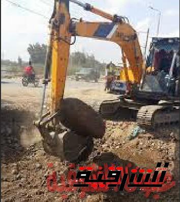 محافظ الشرقية يتفقد أعمال إزدواج طريق فاقوس الحسينية