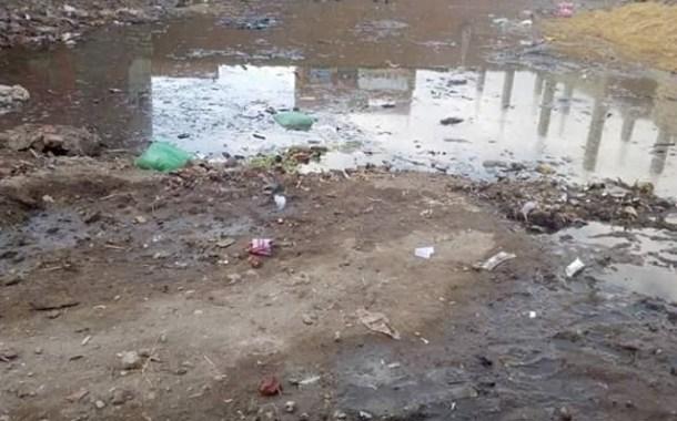 أبوشعبةبأبوحمادتعوم علي برك من مياه الصرف الصحي
