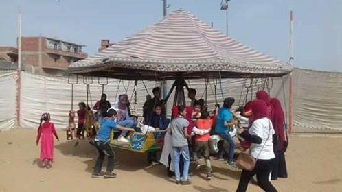 مركز شباب ابوحماد يحتفل بيوم اليتم