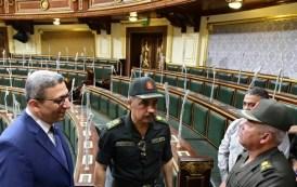 الوزيري وسعد الدين يتفقدان إستعدادات البرلمان لجلسة حلف اليمين