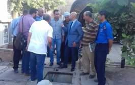 وكيل وزارة الصحة يتفقد سير العمل بمستشفي أولاد صقر المركزي