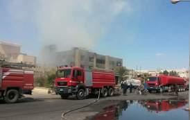 النيابة العامة تحقق في واقعة حريق مصنع