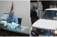 بعد واقعة سرقة سيارة المحافظة....وقف نبيل فاروق رئيس مركز أبوحماد ثلاثة شهور عن العمل