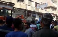 بالصور...حمله مكبرة لإزاله التعديات والاشغالات بشوارع مدينة أبوحماد