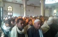تشيع جثمان الشهيد عماد خالد أحمد عبدالرحمن هريش من المسجد الكبير بقرية العراقي