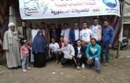 لجان قرية المهدية بههيا تشهد إقبال كبير خلال فعاليات اليوم الأول للاستفتاء على التعديلات الدستورية