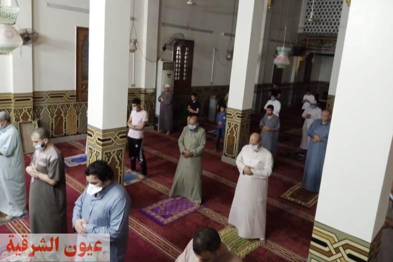 لجان دورية على مساجد الشرقية للتأكد من إلتزام المصلين بالإجراءات الإحترازية لمنع العدوى بفيروس كورونا