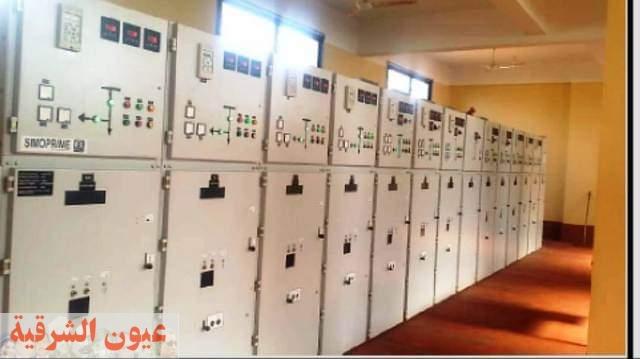 محافظ الشرقية يطمئن علي إنتظام سير أعمال موزعات ومحولات نقل الكهرباء الجاري إنشائها بنطاق المحافظة
