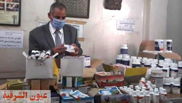 بيطري الشرقية يضبط 761 عبوة دواء بيطري مخالف في حملات تفتيشية بمراكز ومدن المحافظة