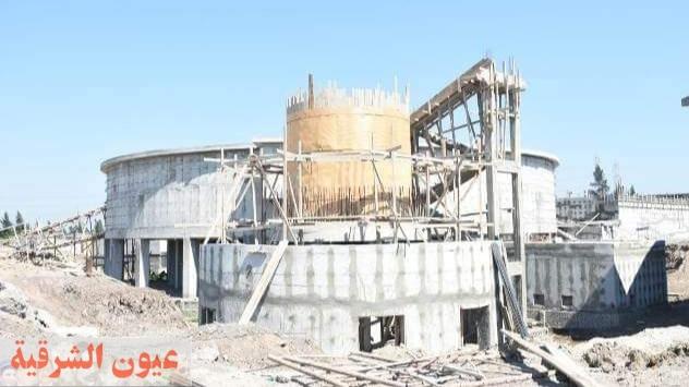 محافظ الشرقية يتابع نسب تنفيذ أعمال إنشاء محطه مياه البكارشة بالحسينية بتكلفه 350 مليون جنيه