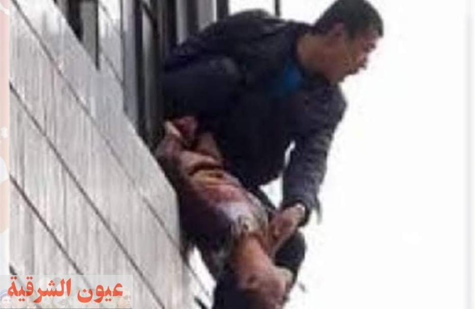 رجل يلقى زوجته من البلكونة بسبب الخلافات الأسرية بكفر الشاويش بالزقازيق