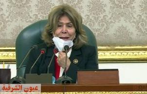 سن فريدة الشوباشي.. لماذا ترأست الكاتبة الجلسة الإفتتاحية لمجلس النواب