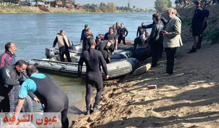 رئيس مركز ومدينة بلبيس يستقبل فرق القوات البحرية والإنقاذ النهري والحماية المدنية لإستكمال البحث عن الشاب غريق قرية الزوامل