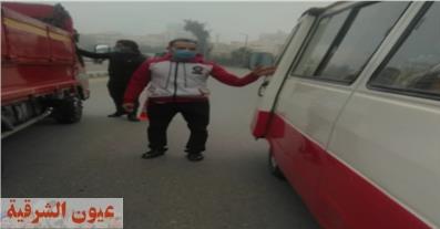 ضبط 114 مواطن لعدم إرتدائهم الكمامات الواقية بالشرقية