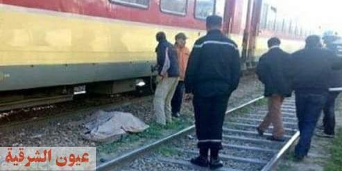مصرع شاب أسفل عجلات القطار بمزلقان أم الزين بالزقازيق