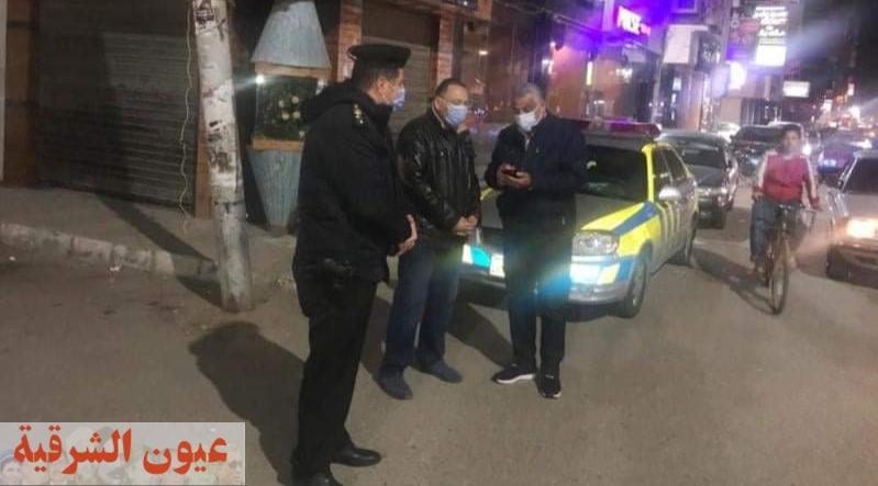 محافظ الشرقية يقود حملة ليلية بشوارع مدينة الزقازيق لضبط التكاتك المخالفة والتصدي لظاهرة نباشي القمامة