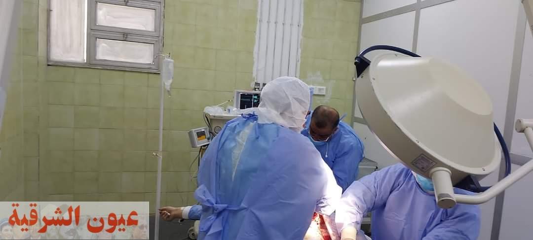 إجراء ولادة قيصرية لسيدة مصابة بفيروس كورونا بمستشفي العزل بفاقوس