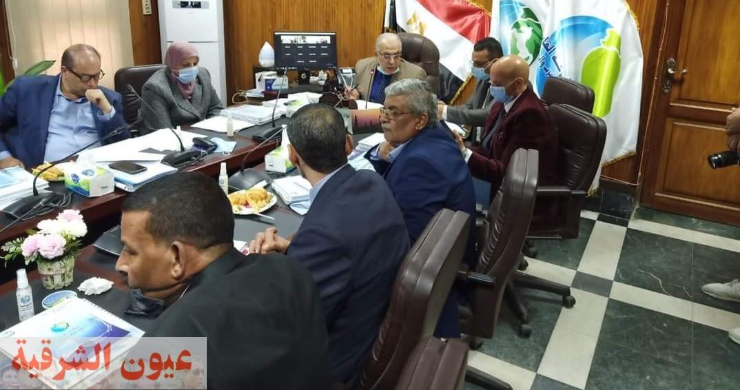 وكيل وزارة الصحة بالشرقية يشارك في إجتماع الجمعية العمومية لشركة مياه الشرب والصرف الصحي