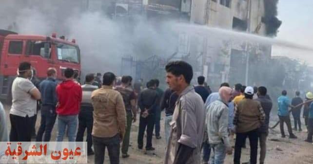20 حالة وفاة وإصابة 24 عامل...حصيلة حريق مصنع بالعبور