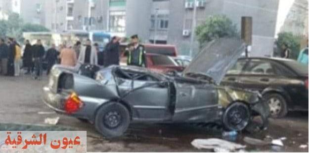مصرع سائق وإصابة طفل وعامل في حادث تصادم بجرجا سوهاج