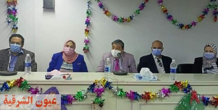 جامعة الزقازيق تكرم أطباء العزل بالجامعة في ذكري يوم الطبيب المصري وسط إجراءات إحترازية مشددة