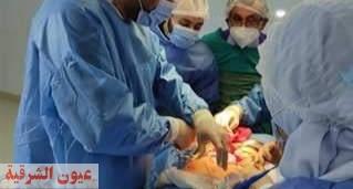 إجراء ٢ عملية إستئصال ورم سرطاني بمستشفي السعديين