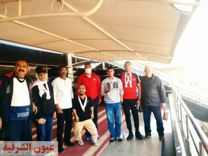 جامعة الزقازيق تحصد 15 ميدالية من بطولة الجامعات المصرية (الشهيد الرفاعي 48 ) لألعاب القوي للعام 2020/2021