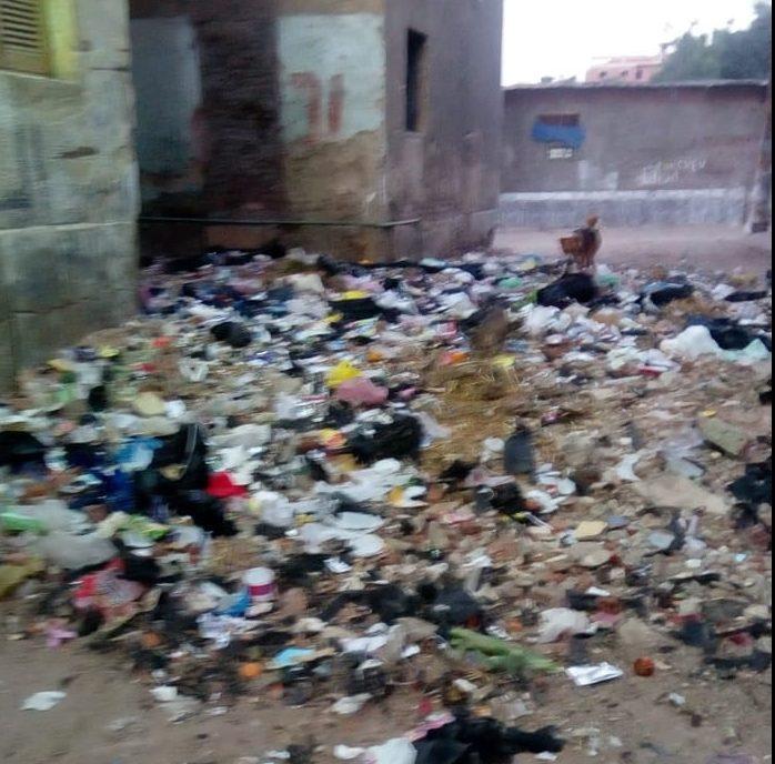 القمامة تحاصر مساكن الكرنك بمدينه ابو كبير