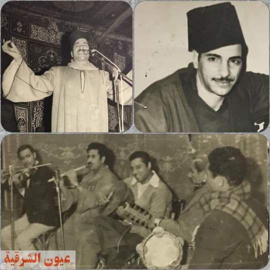 صوره من الزمن الجميل الفنان الشوبكي مع فرقته الموسيقيه