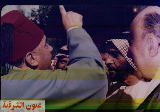 محمد الشوبكي مع الشيخ زايد