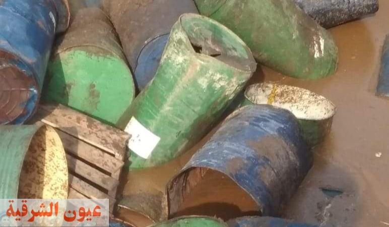 ضبط وإعدام أكثر من 47 طن أغذية فاسدة بمصنع للمواد الغذائية بأبوكبير