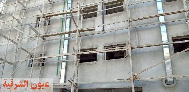 محافظ الشرقية يُتابع معدلات تنفيذ مشروع إنشاء مستشفى كفر صقر المركزي بتكلفة 100 مليون جنيه