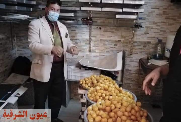 تحرير 6 محاضر جنح وإعدام 247 أغذية فاسدة بمدينة القرين