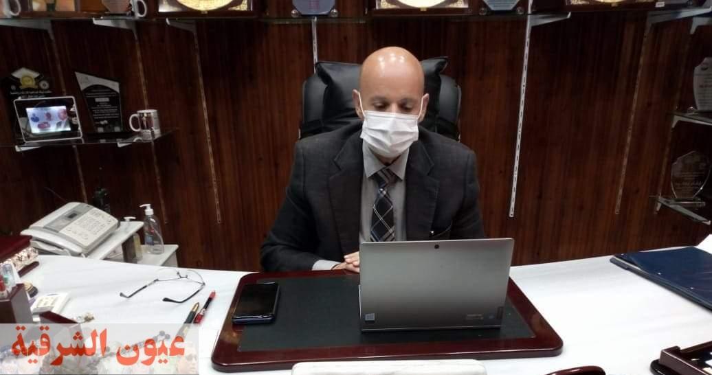 وكيل وزارة الصحة بالشرقية يواصل الإجتماعات المكثفة بمديري المستشفيات لمواجهة الموجة الثالثة من كورونا