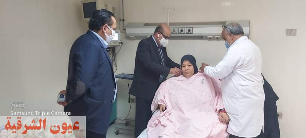 وكيل وزارة الصحة بالشرقية يكلف بالتحرك الفوري إستجابة لإستغاثة مريضة سمنة مفرطة ببلبيس