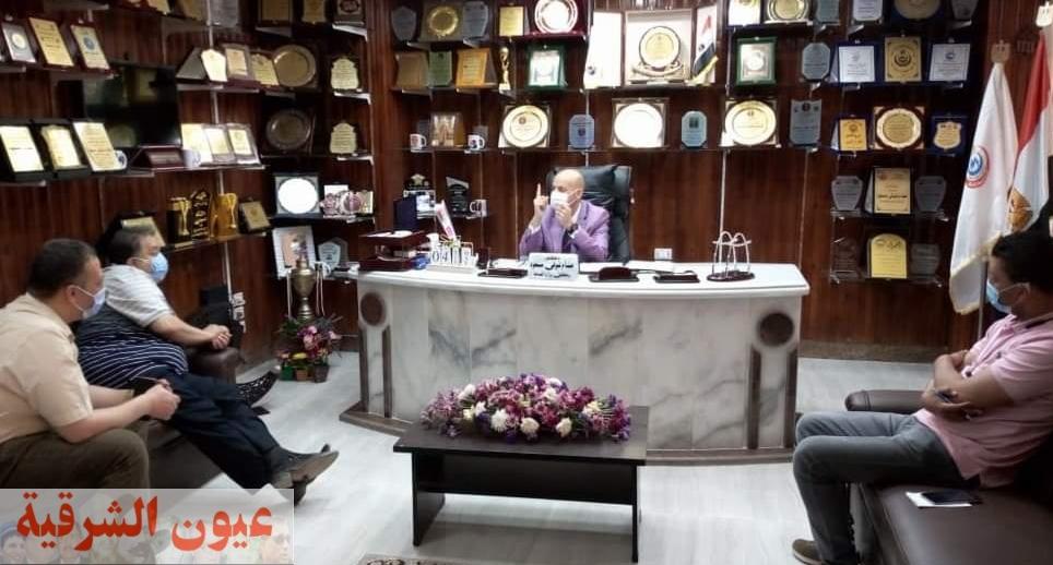 وكيل وزارة الصحة بالشرقية يناقش مع مديري الإدارات الصحية والمستشفيات خطة العمل