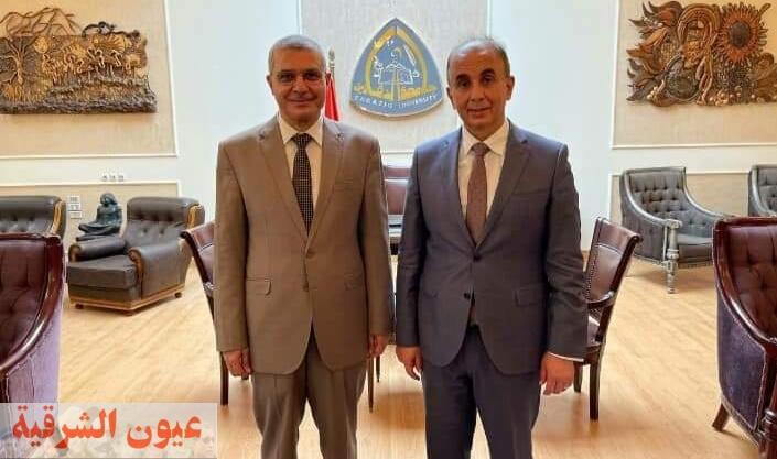 قرار جمهوري بتعيين الدكتور خالد الدرندلي نائباً لرئيس جامعة الزقازيق للدراسات العليا والبحوث
