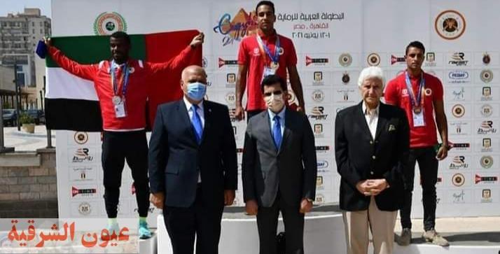 وزير الرياضة يكرم الفائزين لمنافسات تأرجت سبرنت ضمن البطولة العربية للرماية