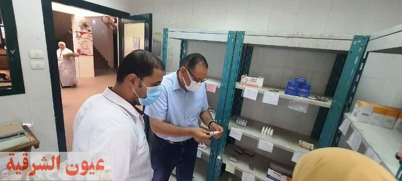 محافظ الشرقية يُفاجئ الوحدة الصحية بتل مفتاح بأبوحماد