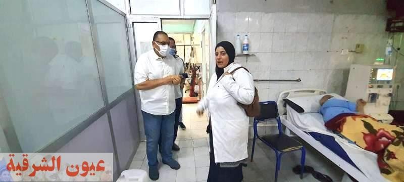 محافظ الشرقية في زيارة مفاجئة لمستشفي مشتول السوق المركزي للوقوف على مستوى الخدمات الصحية والعلاجية المقدمة للمرضى