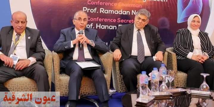 رئيس جامعة الزقازيق يشهد فعاليات المؤتمر الدولي السنوي للجمعية المصرية لأمراض الصدر والتدرن