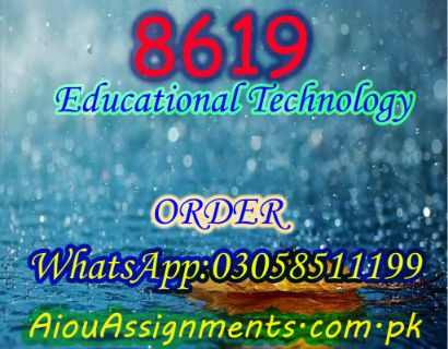 8619 Educational Technology Bed Spring 2019